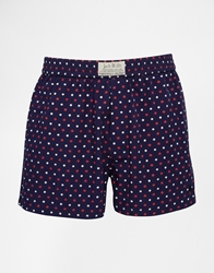 Jack Wills Foundry Woven Boxers Navy