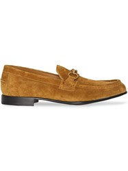 Burberry The Suede Link Loafer Brown