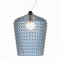 Kartell Kabuki Ceiling Lamp Light Blue
