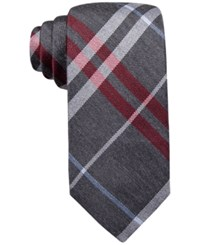 Ryan Seacrest Distinction Gower Plaid Slim Tie Only At Macy's Red