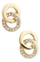 Women's Kate Spade New York 'Infinity And Beyond' Stud Earrings Gold