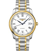 Longines L2.793.5.19.7 Master Collection 18Ct Gold Plated And Stainless Steel Watch