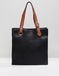 Amy Lynn Shopper Bag Black