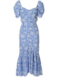 Alice Mccall Cloud Obscurity Embroidered Midi Dress 60