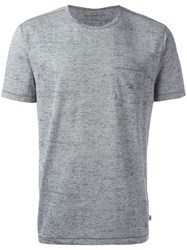 John Varvatos Chest Pocket T Shirt Grey