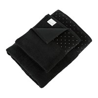 Moeve Crystal Border Collection Towel Black