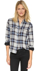 Joe's Jeans Winnie Plaid Shirt Heather Cascade