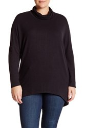 14Th And Union Cozy Turtleneck Sweater Plus Size Black