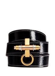 Givenchy 'Obsedia' Triple Wrap Coated Leather Bracelet