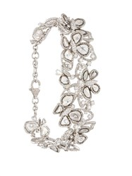 Saqqara Diamond Butterfly Bracelet Metallic