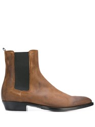 Buttero Chelsea Ankle Boots Brown