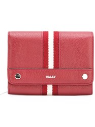 Bally Snap Wallet Red