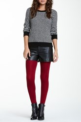 Magid Fleece Lined Legging Red