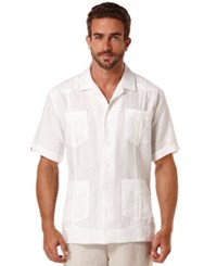 Cubavera Short Sleeve 4 Pocket Guayabera Shirt Heirloom Lilac