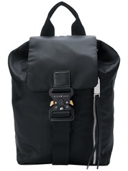 Alyx Buckle Backpack Cotton Black