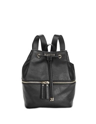 Kenneth Cole Reaction Bondi Girl Faux Leather Backpack Black
