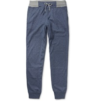 Loro Piana Silk And Cashmere Blend Sweatpants Blue