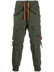 Paul And Shark Fitted Cargo Trousers 60