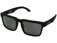 Spy Optic Helm Soft Matte Black Happy Gray Green Polar Fashion Sunglasses