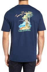 Tommy Bahama Men's Big And Tall Line Dancing Graphic T Shirt