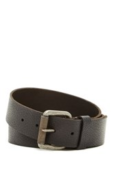Timberland 40Mm Milled Pull Up Belt Black