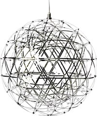 Moooi Raimond R43 Suspended Lamp Dimmable Silver