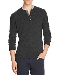 Vince Cashmere Henley Sweater H Shadow