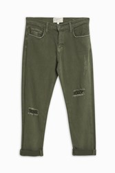 Current Elliott Fling Army Jeans Khaki