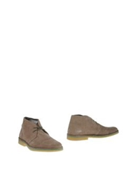 Selected Homme Ankle Boots Light Grey