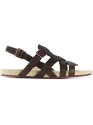 Paul Smith Jeans Gladiator Sandals
