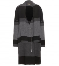 Bottega Veneta Wool And Cashmere Coat Black