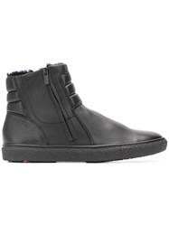 Lloyd Padded Ankle Boots Black