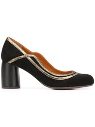 Chie Mihara Mommy Pumps Black