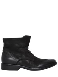 Strategia 20Mm Nubuck Leather Lace Up Boots