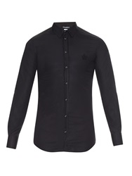Dolce And Gabbana Gold Fit Cotton Shirt