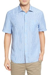 Tommy Bahama Men's Big And Tall Sand Linen Check Sport Shirt