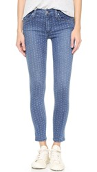 James Jeans Twiggy Ankle Legging Jeans Forever Blue Polka Dot