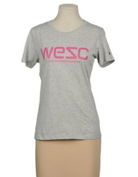 Wesc Short Sleeve T Shirts Emerald Green