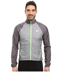 Pearl Izumi Elite Barrier Convertible Cycling Jacket Smoked Men's Coat Gray