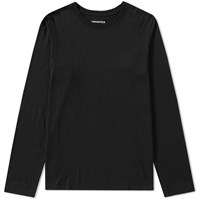 Nanamica Coolmax Loopwheel Long Sleeve Jersey Tee Black