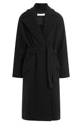 Iro Belted Coat With Wool Black