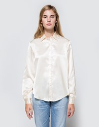 Matin Oversized Collared Shirt Gold Pale Gold