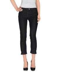 Balenciaga Denim Denim Trousers Women Black