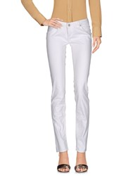 Fred Mello Casual Pants White