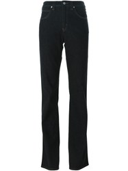 Armani Jeans High Waisted Bootcut Jeans Black