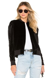 David Lerner Vanessa Zip Up Jacket Black