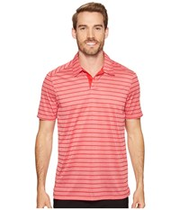 Oakley Top Stripe Polo Red Line Men's Clothing