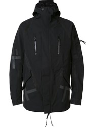 11 By Boris Bidjan Saberi 'Pattern' Wind Breaker Black