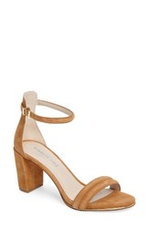 Kenneth Cole Women's New York 'Lex' Ankle Strap Sandal Umber Suede