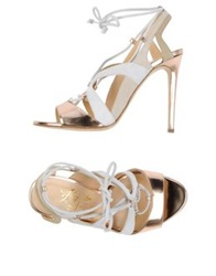 Alejandro Ingelmo Sandals Copper